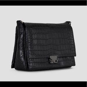 Emporio Armani Crossbag Black Croc